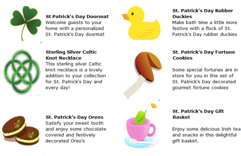 st pattys gifties