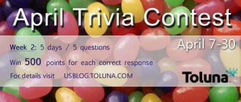 April Trivia Contest W2