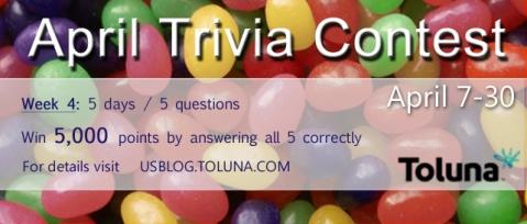 April Trivia Contest W4