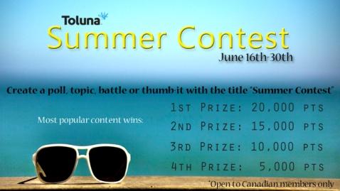 June 2014 Canada Summer Contest