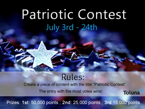 July Patriotic Contest