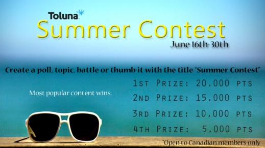 June 2014 Canada Summer Contest