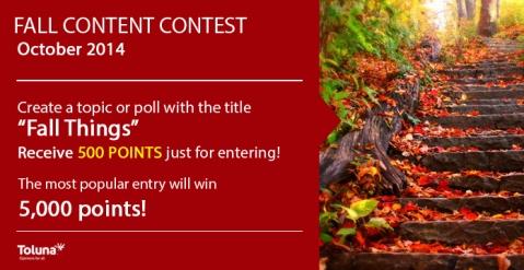 October Content Contest