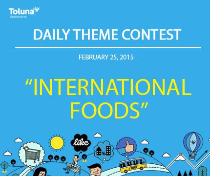 FEB 25 INTERNATIONAL FOODS