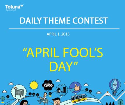 APRIL 1 april fools day