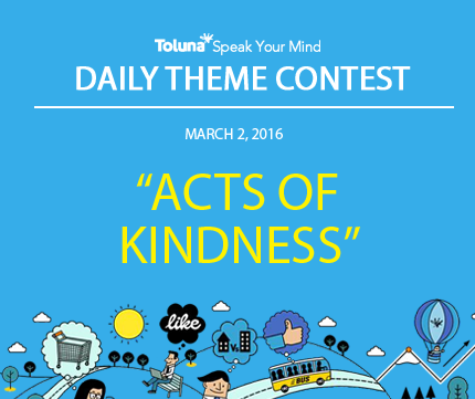 MARCH 2 ACTS OF KINDNESS