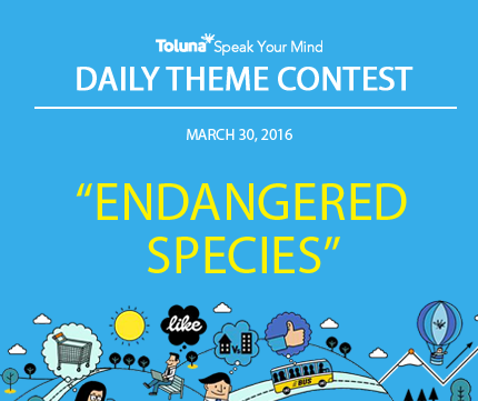 MARCH 30 ENDANGERED SPECIES