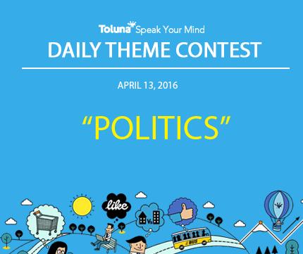 APRIL 13 POLITICS