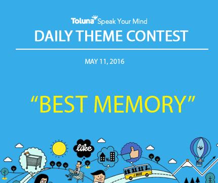 MAY 11 BEST MEMORY