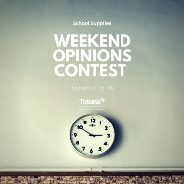 Weekend Opinions COntest