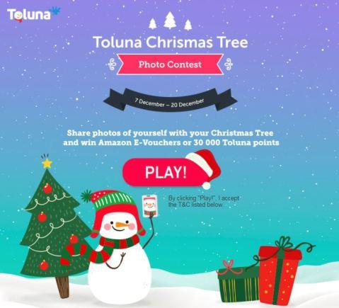 Toluna Christmas Tree Photo Contest | Toluna