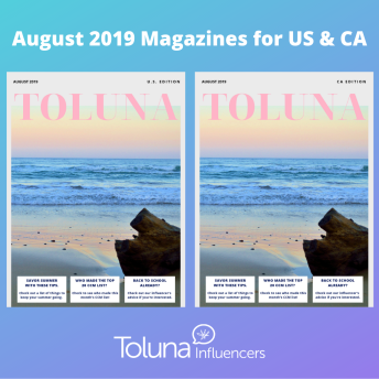 August magazine post