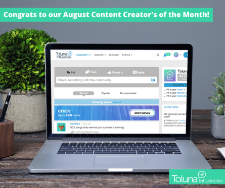 August CCM of Month